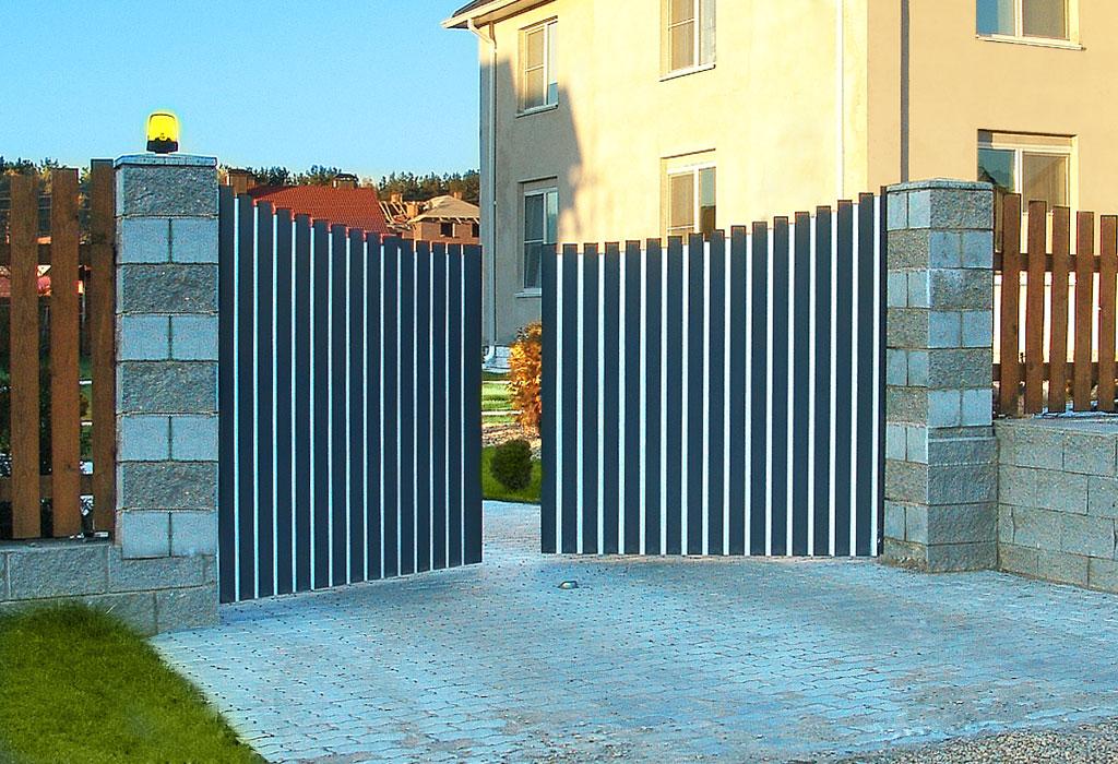 Въездные распашные ворот цена сметы на ворота
